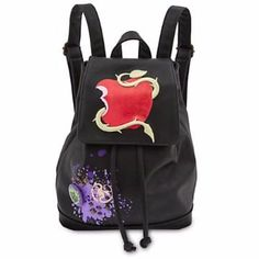[Tempting to all]The <i>Descendants</i> have got your back with this faux leather fashion backpack featuring adjustable straps, and glittering logo atop the magnetic flap closure to add a crafty convenience to your day. Disney Descendants Dolls, Descendants Wicked World, Descendants Cast, Cute Backpacks, Girl Backpacks, Backpack Purse, Fashion Backpack, Drawstring Backpack, Leather Backpack