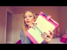 HOW I KEEP ORGANIZED! Anna Saccone; Staying organized, Filofax, and cleaning/daily routines.
