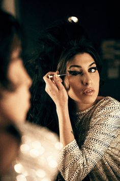 Amy Winehouse through the looking glass
