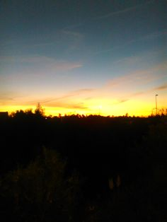 Pôr do sol, 17h30
