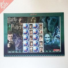 #Mint #Australian #HarryPotter and the Order of the Phoenix #postage #stamps, in original cardboard/plastic envelope with fold out stand in the back, light wear on the corners. $17 including U.S. shipping  #yardsale #garagesale #forsale