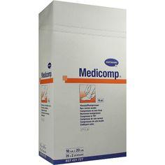 MEDICOMP Kompressen 10x20 cm steril:   Packungsinhalt: 25X2 St Kompressen PZN: 04783826 Hersteller: PAUL HARTMANN AG Preis: 12,57 EUR…