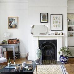 Fireplace And Alcoves