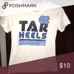 🎉FREE Tar Heels tshirt L͙A͙S͙T͙ C͙H͙A͙N͙C͙E͙ Women's Nike Tar Heels tshirt. Free with any purchase. I͙F͙ N͙O͙T͙ S͙O͙L͙D͙ B͙Y͙ T͙H͙E͙ E͙N͙S͙ O͙F͙ T͙H͙E͙ W͙E͙E͙K͙  W͙I͙L͙L͙ B͙E͙ D͙O͙N͙A͙T͙E͙D͙ Nike Tops Tees - Long Sleeve