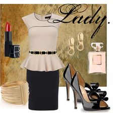 """""""Lady."""" by arstylists on Polyvore"""