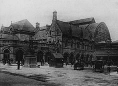 Middlesbrough railway station in 1900