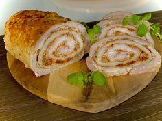 Rolada ze schabu - Blog z apetytem Baked Potato, Sushi, Cabbage, Tacos, Blog, Potatoes, Mexican, Bread, Baking