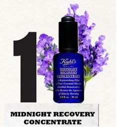 While you sleep… Our award winning formula - Midnight Recovery Concentrate regenerates, repairs and replenishes skin overnight for a smoother, healthier look.