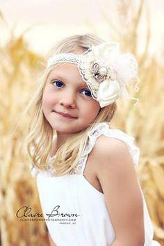 Baby Bow Headband-Baby Headband-Baby Girl Headband-Couture Baby Headband-Bow Headband-Bridal Headband-Phoro Prop
