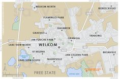 WELKOM Map