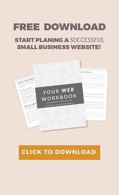Your Web Workbook - Design By Krista
