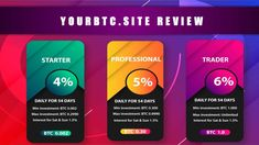 YourBTC.site is an investment Platform that offers good return profits or ROI on your investments. In this article we will review the site to see if is legit including Payment Proofs. Crypto Money, Cloud Mining, Bitcoin Wallet, Cloud Based, Cryptocurrency, Investing, Platform, Day, Wedge