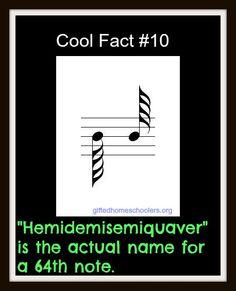 Hemidemisemiquaver = 64th note  http://en.wiktionary.org/wiki/octothorpe