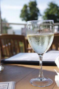 Glass of white wine, Smoke 'N Water  |  1-1600 Stroulger Road, Nanoose Bay, British Columbia V9P