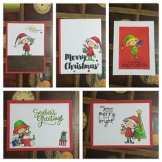 Another batch of #Christmascards using another #mftstamps set.