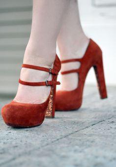 LOVE these Miu Miu heels!