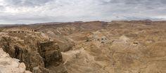 Masada ruins and territory