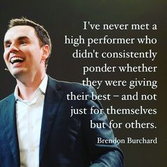 "2,408 Likes, 38 Comments - Brendon Burchard (@brendonburchard) on Instagram: ""We live in a world where everybody is talking about hustle and grind for personal gain and…"""