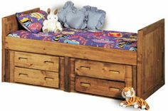 The Captain's Bed Underbed Storage by Trendwood gives your space the need room you, or your kid, desire. Under Bed Storage, Storage Chest, Twin Captains Bed, Dining Furniture, Boy Room, Girls Bedroom, Sweet Home, New Homes, Cabinet