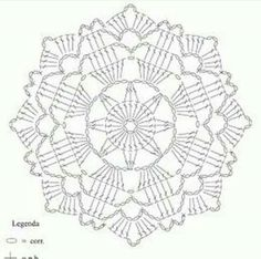 Crochet motif pattern diagram - Here's the pattern my friends 💕 Have a beautiful day 🌸✨ .Natali's media content and analytics Crochet Stitches Chart, Crochet Doily Diagram, Crochet Mandala Pattern, Crochet Blocks, Crochet Flower Patterns, Crochet Squares, Crochet Designs, Crochet Doilies, Crochet Round