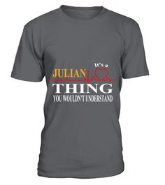 # IT IS JULIAN THING .  IT IS JULIAN THING  A GIFT FOR A SPECIAL PERSON  It's a unique tshirt, with a special name!   HOW TO ORDER:  1. Select the style and color you want:  2. Click Reserve it now  3. Select size and quantity  4. Enter shipping and billing information  5. Done! Simple as that!  TIPS: Buy 2 or more to save shipping cost!   This is printable if you purchase only one piece. so dont worry, you will get yours.   Guaranteed safe and secure checkout via:  Paypal | VISA…