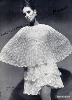 Christian Dior 1966 Embroidery Marescot, Louis Astre