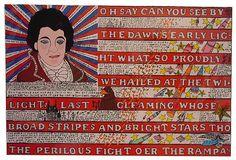 View Flag by Howard Finster on artnet. Browse more artworks Howard Finster from Skot Foreman Fine Art. Howard Finster, Flag Art, World Crafts, Art Brut, Artwork Images, Soul Art, Naive Art, Visionary Art, Sacred Art