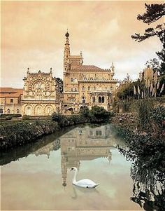 Amazing Places To Experience Around The Globe - Bussaco Palace, Luso, Portugal #travel #lovelife