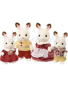 Sylvanian Families Игровой набор Семья Шоколадных Кроликов