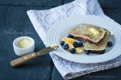 Paleo French Toast.  So simple and AMAZING.  Repin if you like :) #paleo #breakfast #recipes #food