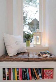 I also need  a window bench!