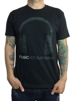 Grooveman Music is the Answer T-Shirt!