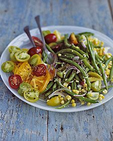 Green Bean, Corn, and Tomato Salad - Whole Living Eat Well