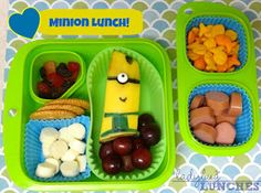Ladybug Lunches: Minion Lunch!
