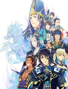 dynasty warriors anime | Dynasty Warriors - Shin Sangoku Musou
