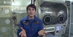 Samantha Cristoforetti: gli esperimenti della missione Futura - NextMe