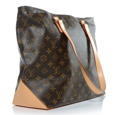 LOUIS VUITTON Monogram Cabas Mezzo Authentic Louis Vuitton, Louis Vuitton 38654b64b81