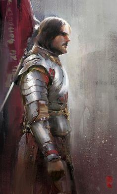 Knight by Donglu Yu | Illustration | 2D | CGSociety