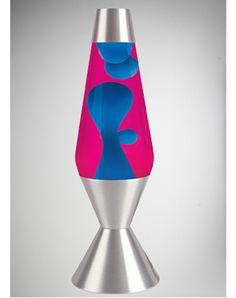 Blue Lava Lamp | & Dorm / Lava Lamps / 52 Ounce Premier Lavas / Lava Lamp with Blue ...