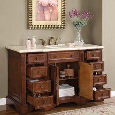 Bathroom Vanity One Sink 60 inch bathroom vanity single sink | best bathroom design | home