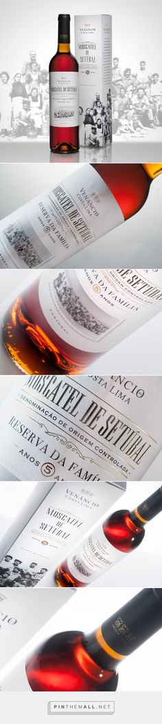Moscatel Reserva Venâncio da Costa Lima - Packaging of the World - Creative Package Design Gallery - http://www.packagingoftheworld.com/2017/08/moscatel-reserva-venancio-da-costa-lima.html - created via https://pinthemall.net