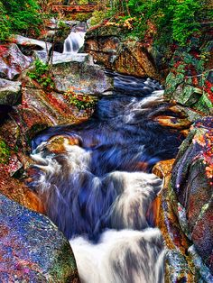 White Mountain Rapids is a photograph by Marcia Colelli. Rapids in White Mountain, New Hampshire. Source fineartamerica.com