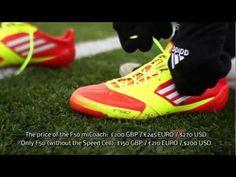 best loved 5f187 55dc4 Review  Adidas F50 Adizero miCoach   How it works  iPhone iPod iPad. Botas  De FútbolIpod