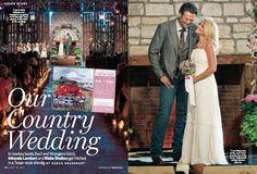 miranda & blake country wedding