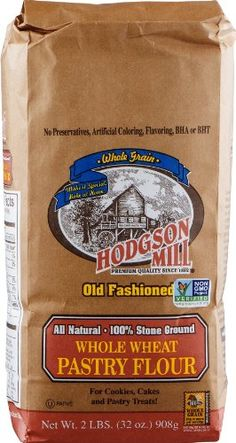 Hodgson Mill Whole Wheat Pastry Flour -- 2 lbs Hodgson Mill http://www.amazon.com/dp/B0001G6VKG/ref=cm_sw_r_pi_dp_FbEdub1M6YR3H