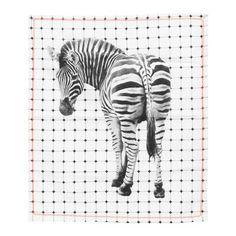 pt, Tiles Zebra Geschirrtuch