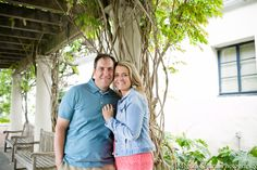 Dallas Engagement Photography at Dallas Arboretum and Dallas Arts District with Liz and Hernan