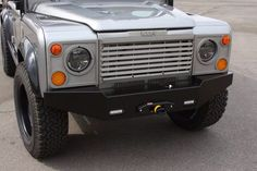 Front end with purpose - Icon 4x4 envisioned Defender 110