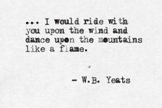 <3 W.B. Yeats