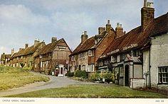 warwickshire, kenilworth, old photo of the castle green.JPG (1140×711)